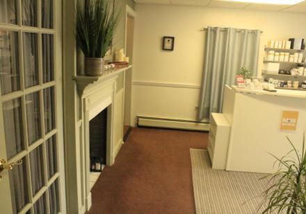 Massage room side view