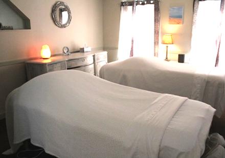 Couples massage suite